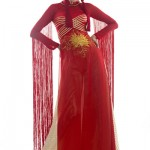 ao dai rouge miss terre 2012